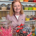 Nancy King, owner of Nandy's Candy in Maywood Mart, specializes in all kinds of sweet treats.