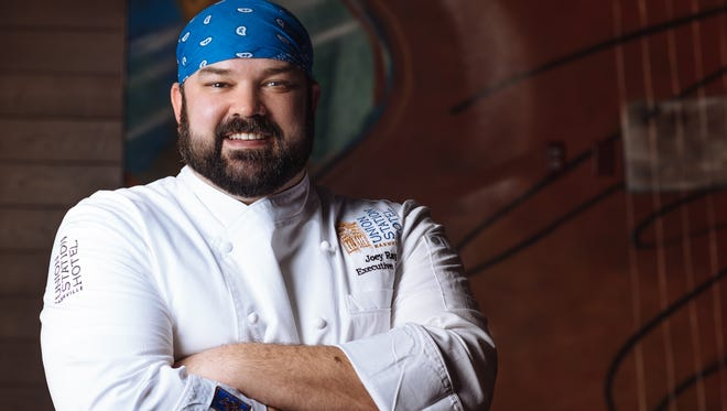 Joey Ray, executive chef at Carter's in Union Station Hotel