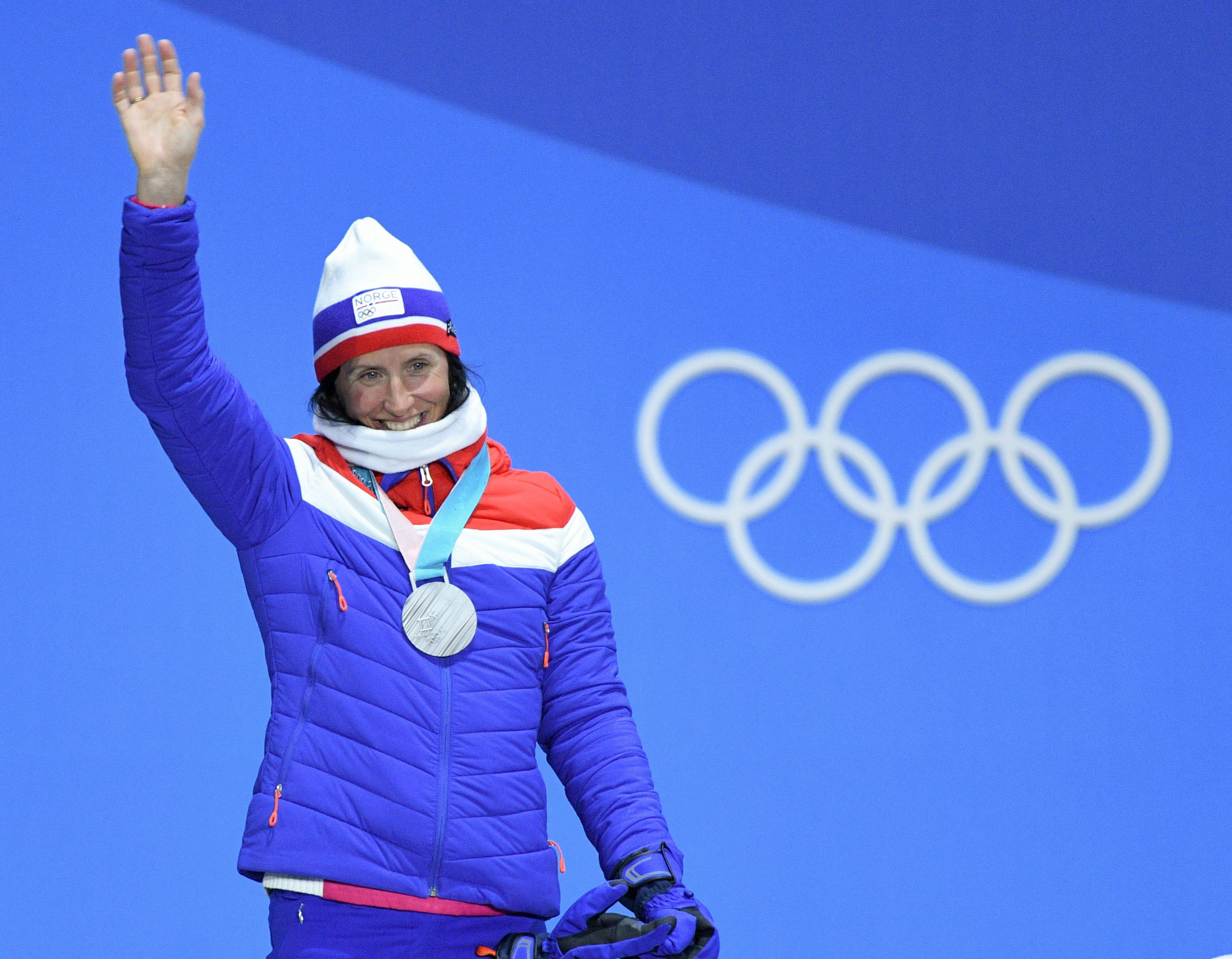 Watch Marit Bjorgen 10 Olympic medals video