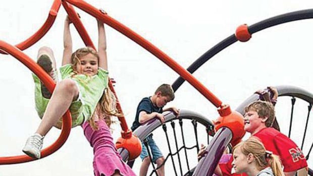 Multiple playgrounds will be part of Rapid City's Legacy Crossing.