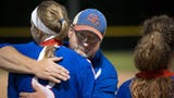 The Spring Grove softball team fell to Cedar Cliff, 13-9, in the District 3 Class 5A title game on Thursday.