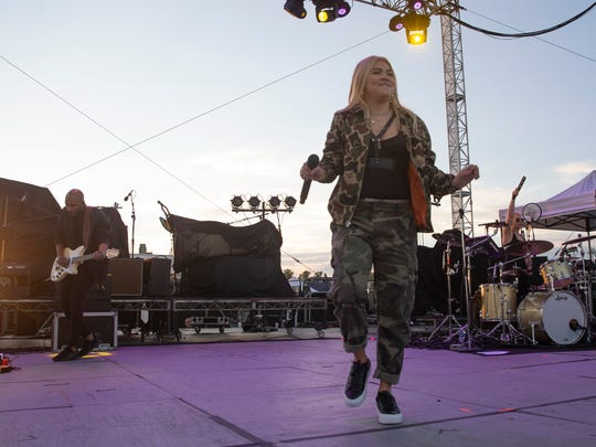 Hayley Kiyoko opens during the Shadow of the City music