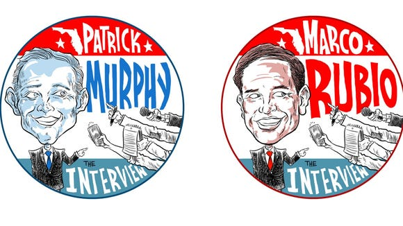 Marco Rubio and Patrick Murphy