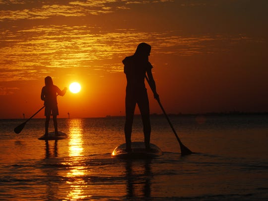 A paddleboarder is missing off of Sanibel.