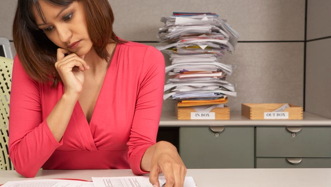Clear off your desk and also clean out your inbox by handling each piece of mail or paperwork only once.