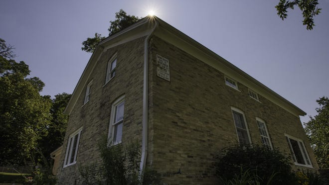 Oldest house in Fond du Lac. The Doty house located in the Taycheedah women's prison. Wednesday, August 12, 2015. Patrick Flood Photography llc photo.