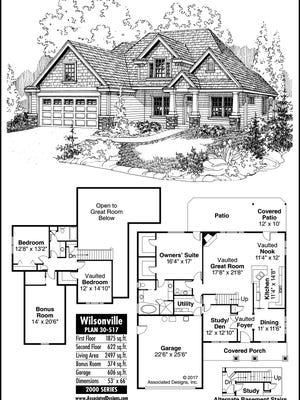 Wilsonville home plans