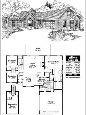 Wilcox home plan