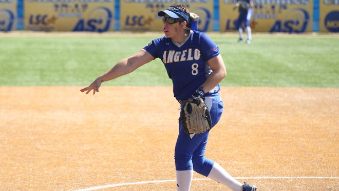 Angelo State University senior pitcher Brandy Marlett worked her magic again in a win against West Texas A&M in Game 3 of the NCAA D-II South Central Regional on Friday.
