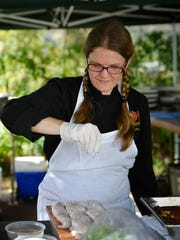 Rachel Main Holst, co-founder and executive chef of Main Course California, recently left the Ventura-based catering company to focus on private clients. Her work with Main Course included overseeing farm dinners for Outstanding in the Field, pictured, and Totally Local VC.
