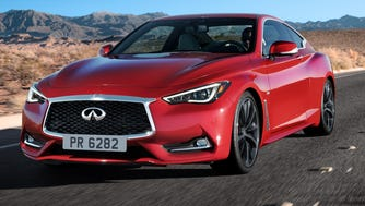 2017 Infiniti Q60 is a coupe aimed exuding style and power.