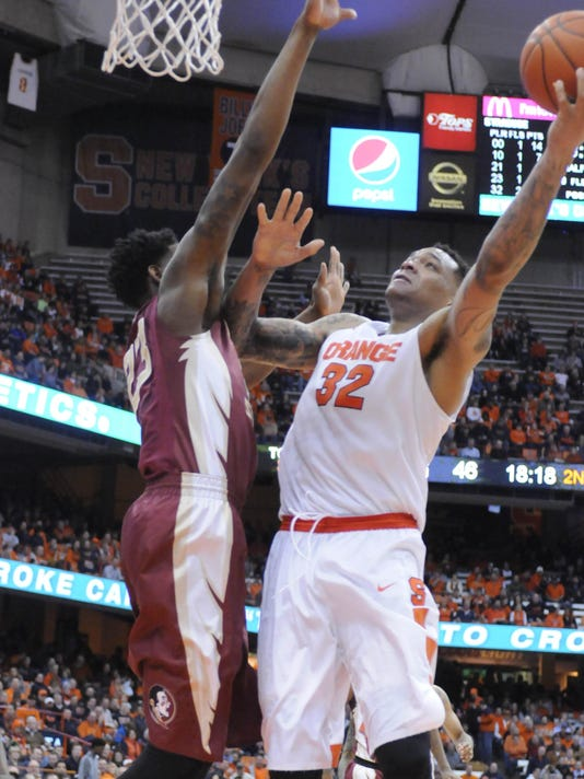 NCAA Basketball: Florida State at Syracuse