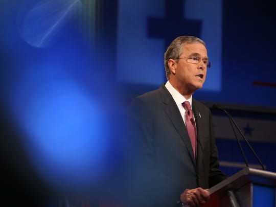 Former Florida governor Jeb Bush speaks during the
