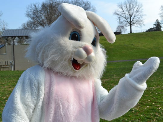 The Easter Bunny was a big hit at the park during the