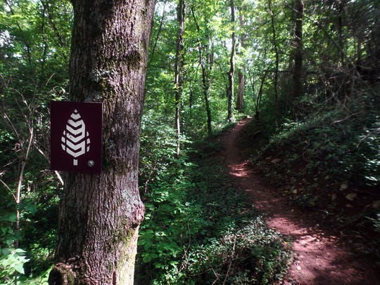 The South Loop Trail in the Knoxville Urban Wilderness