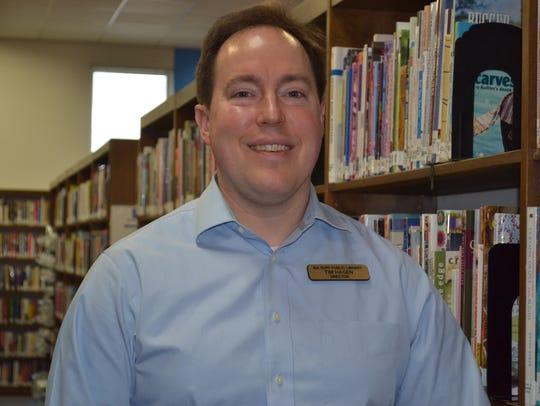 Ida Rupp Library Director Tim Hagen is leading a strategic