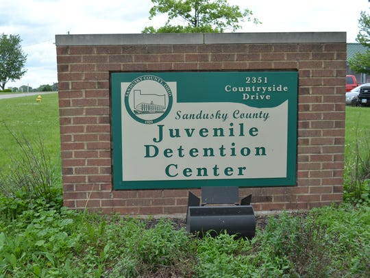 At the Sandusky County Juvenile Detention Center, now