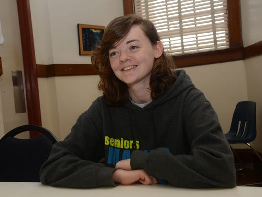 "Katherine ""Kat"" Miller, a senior at Bolton High School, is a National Merit finalist. Thursday, March 12, 2015.-Melinda Martinez/mmartinez@thetowntalk.com"