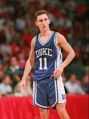 Bobby Hurley of Duke.