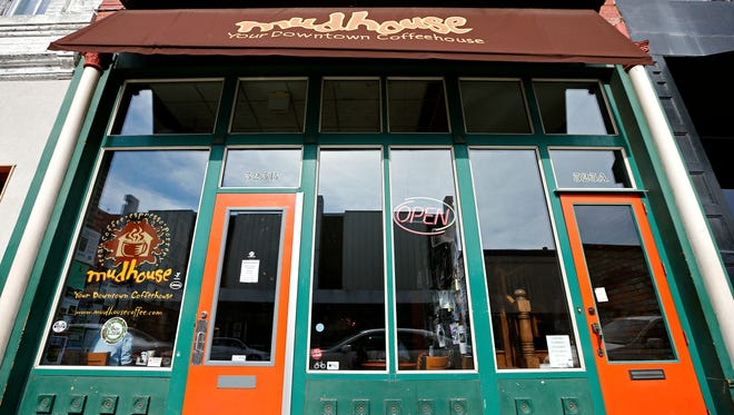 """Mudhouse Coffee opened on Dec. 31, 1998, bringing contemporary coffee culture to Springfield. It has been a """"community living room"""" for Springfield ever since. Housed in an 1889 building that was once a Bridgers grocery store, Mudhouse celebrated 20 years on Dec. 31, 2018."""