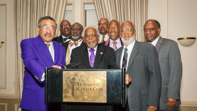 The Mighty Mighty Chi Theta chapter of Omega Psi Phi Fraternity Inc. celebrated its charter line's 50th anniversary in  April.