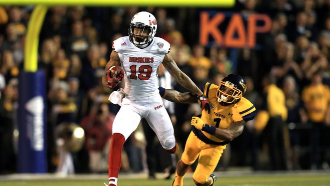 Northern Illinois wide receiver Kenny Golladay (19)