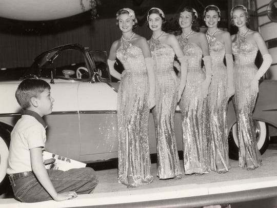 These auto show models were known as the Fisher Body