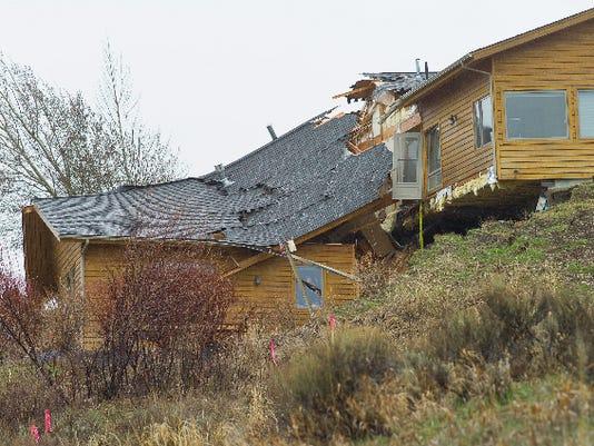 wyoming landslide