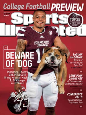 Mississippi State quarterback Dak Prescott appeared on the cover of Sports Illustrated this week.
