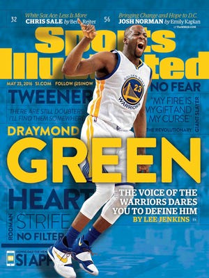 Michigan State star and Saginaw native Draymond Green is featured on the cover of Sports Illustrated