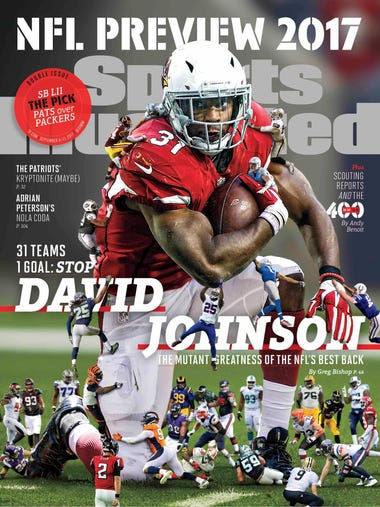 David Johnson on a SI regional cover.