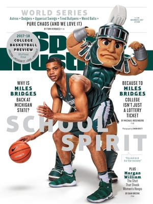 November 2, 2017, Sports Illustrated cover featuring Miles Bridges