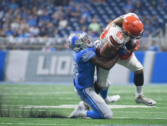 USP NFL: CLEVELAND BROWNS AT DETROIT LIONS S FBN DET CLE