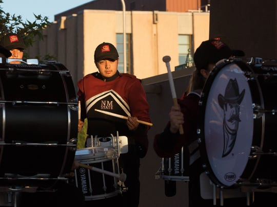 The New Mexico State University Pride of New Mexico