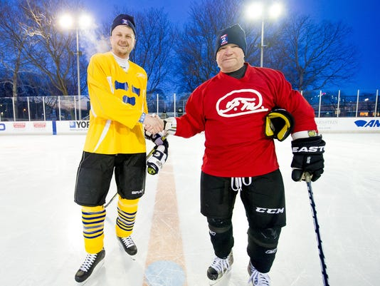 Clark Park Recreation Center in Southwest Detroit presents their Winter Blast and Hockey Classic fundraiser featuring M.L. Elrick and Mike Rataj.