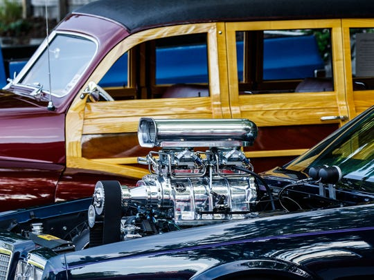 Car enthusiasts can enjoy custom, classic and vintage vehicles at the Cruisin' the Grove car show in Elm Grove.