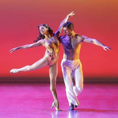 Ballerina Misty Copeland stars as Miss Turnstiles in
