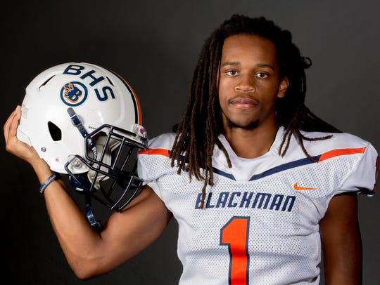 Blackman's Adonis Otey is a Murfreesboro area high