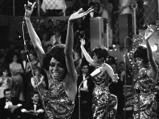 The Supremes in 1968