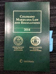 Colorado's laws and regulations governing marijuana