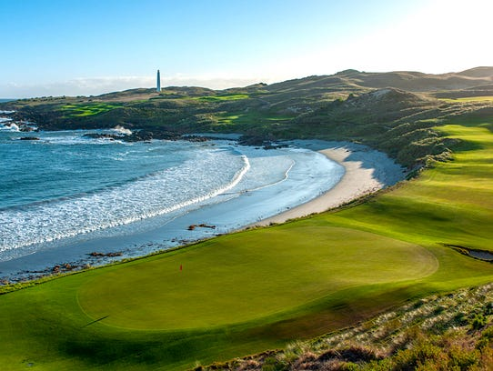 Cape Wickham Links on King Island in Tasmania