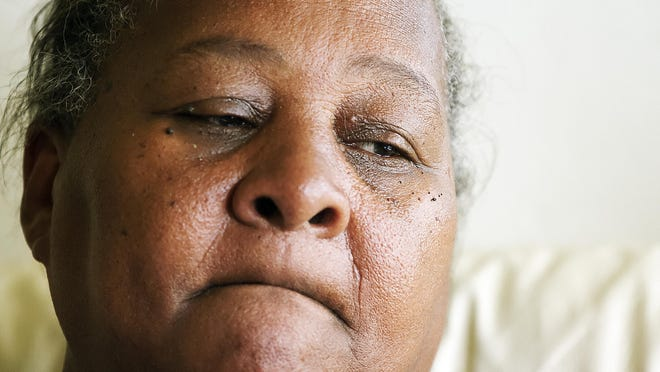 """""""Every week one of our black boys is getting killed,"""" says Sharon Brown of the murders in the Dunbar community of Fort Myers. Brown's son, Andrew Chisholm, 39, and grandson, Tarvese Johnson, 17, were shot and killed Thursday in Dunbar."""