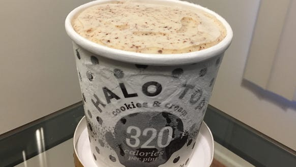 This cookies & cream pint of Halo Top ice cream only