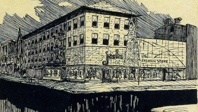Jacks clothing store was on the bottom floor of The National House building at Beaver and Market streets in York, where the Holy Hound is now. One of this week's questions features Jacks.