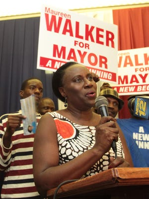 Maureen Walker during the 2011 campaign.