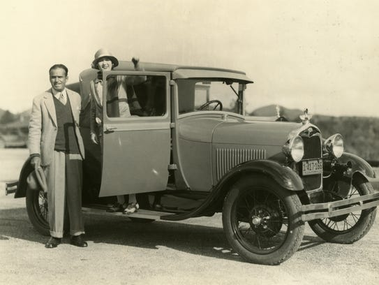 Douglas Fairbanks ordered a Model A for Mary Pickford
