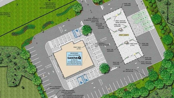 The next hearing on a plan to build a QuickChek convenience store and gas station in Bridgewater on Dec. 1.