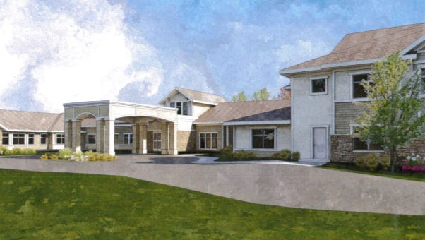 A 110-unit assisted living facility is planned for Sussex.