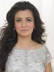 Indian television host, actress and model Mini Mathur
