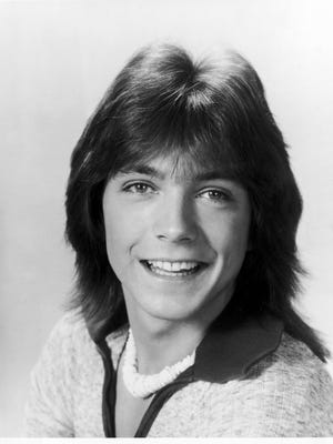 Musical recording artist David Cassidy from 'The Partridge Family.'